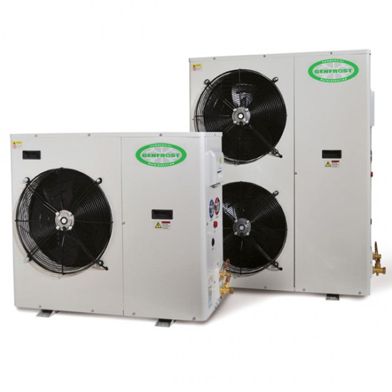 THREE PHASE CONDENSING UNIT 2.5HP ( LOW NOISE SCROLL COMPRESSOR )